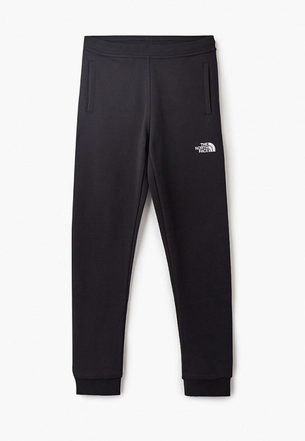 спортивные спортивные брюки the north face для мальчика, черные