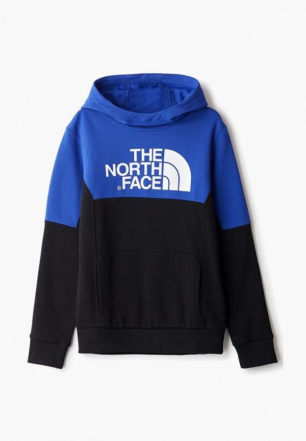 худи the north face для мальчика, синие