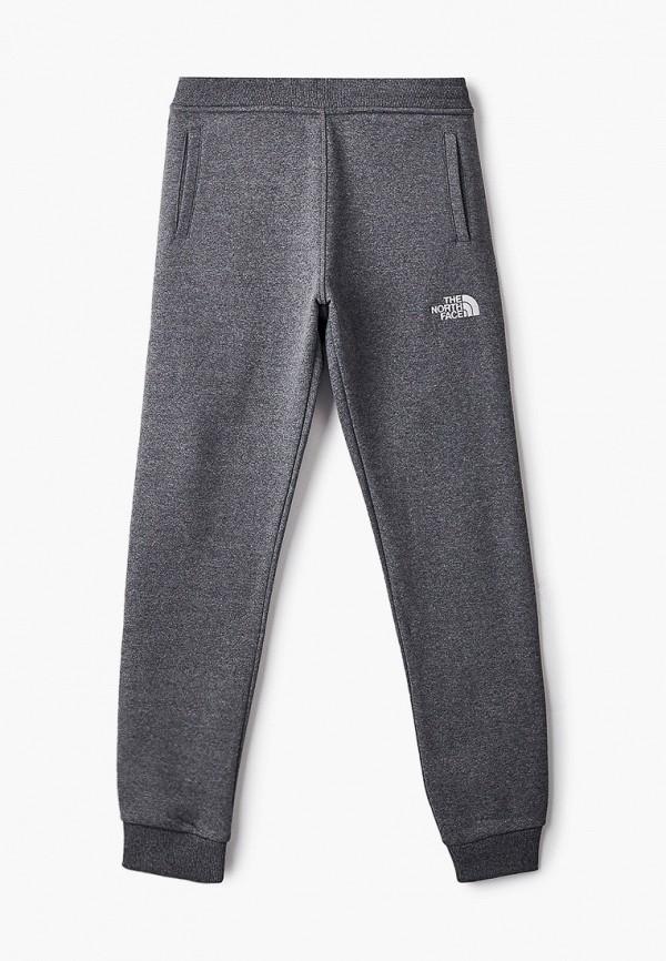 спортивные брюки the north face для мальчика, серые