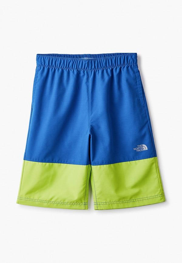 спортивные шорты the north face для мальчика, синие