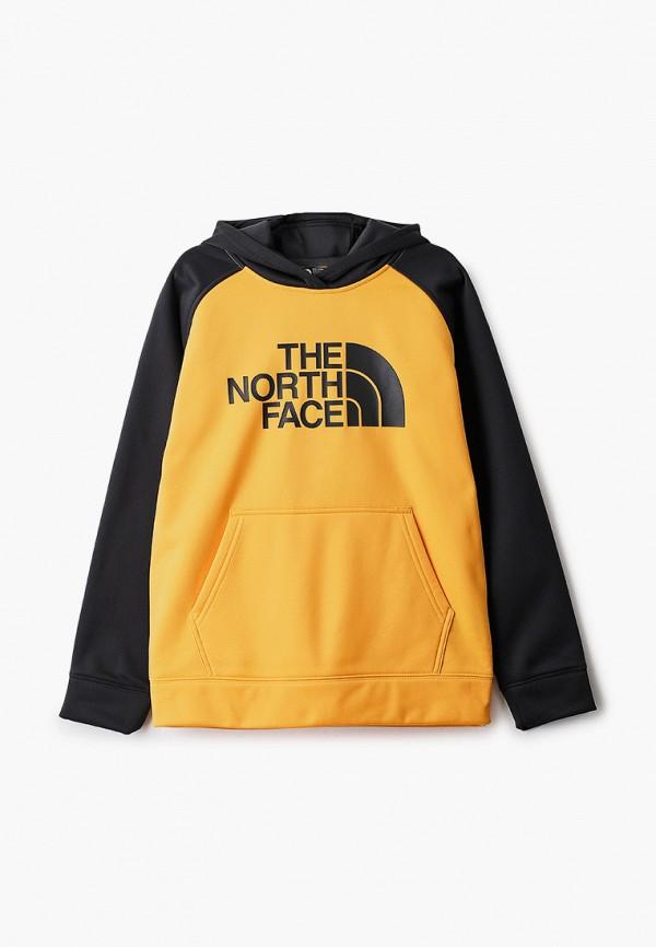 худи the north face малыши, желтые