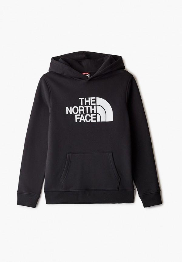 худи the north face малыши, черные