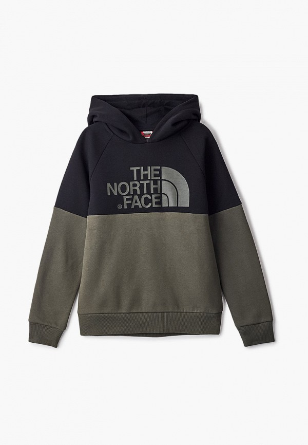 худи the north face малыши, хаки