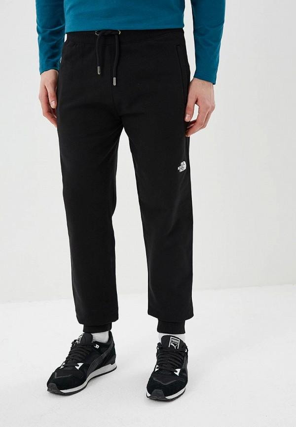 мужские спортивные спортивные брюки the north face, черные