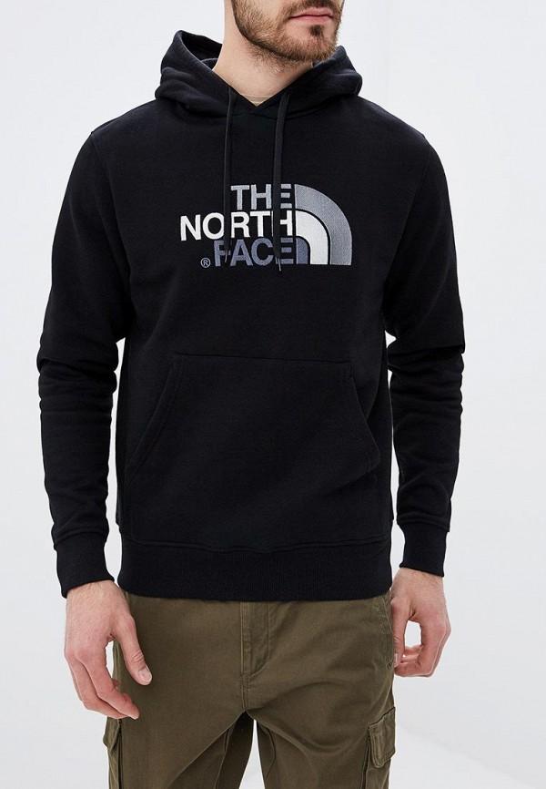 мужские худи the north face, черные