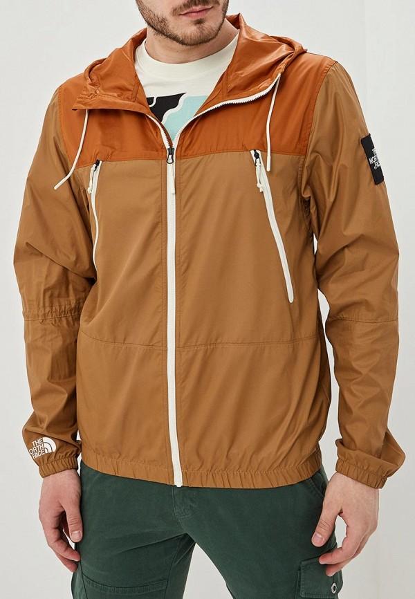 Фото - Ветровка The North Face коричневого цвета