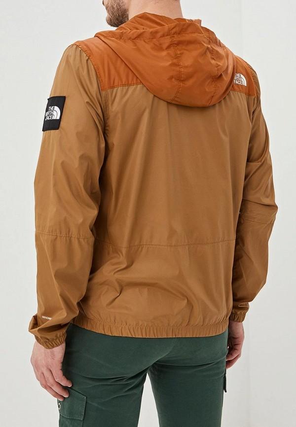 Фото 3 - Ветровка The North Face коричневого цвета