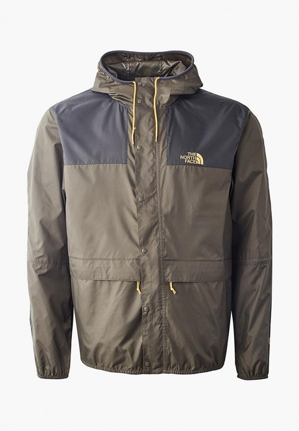 мужская куртка the north face, хаки