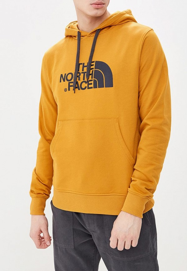 мужские худи the north face, желтые