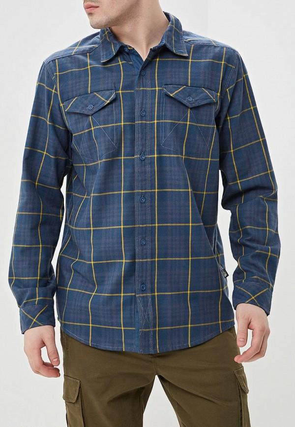 мужская спортивные рубашка the north face, синяя