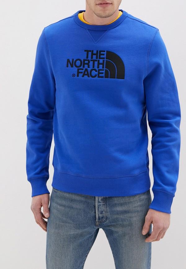 мужской свитшот the north face, синий