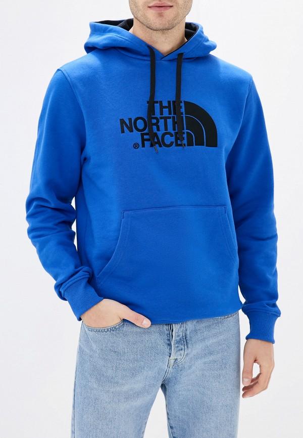 мужские худи the north face, синие