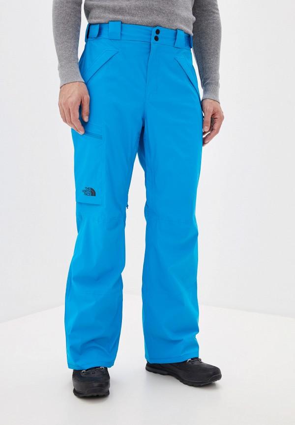 мужские брюки the north face, голубые