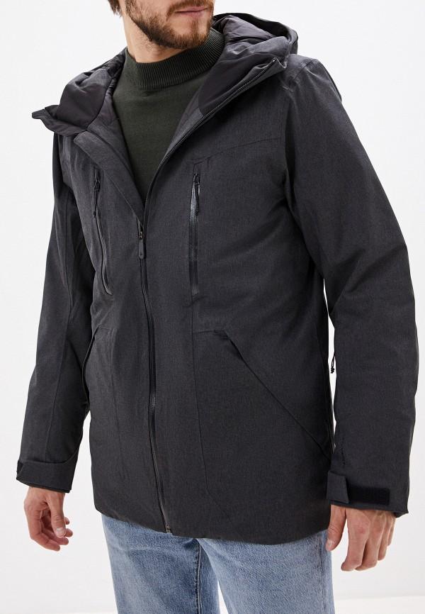 мужская куртка the north face, серая