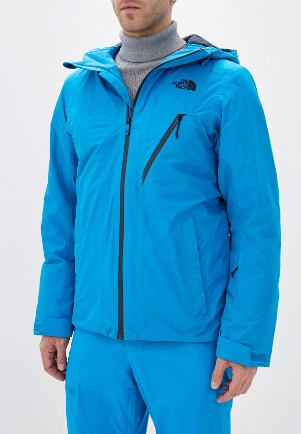 мужская куртка the north face, синяя