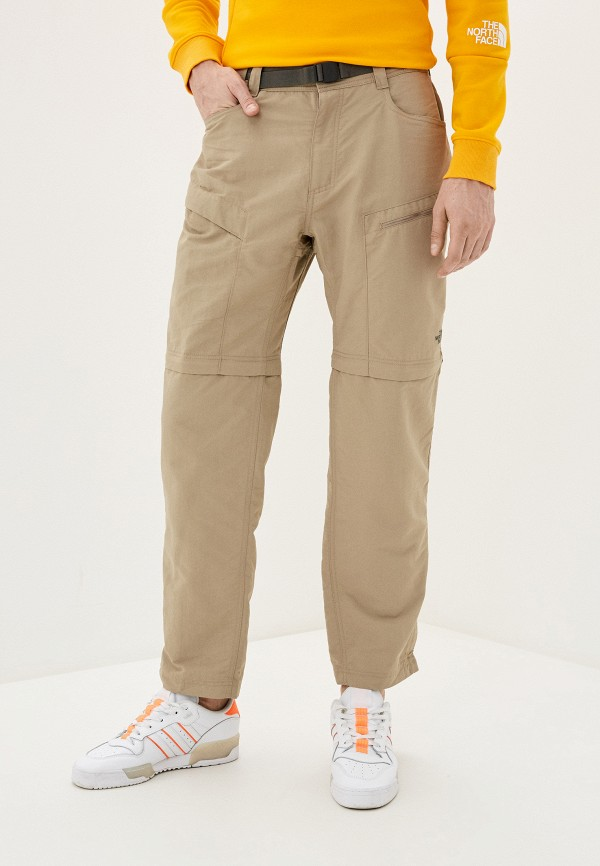 мужские брюки the north face, бежевые