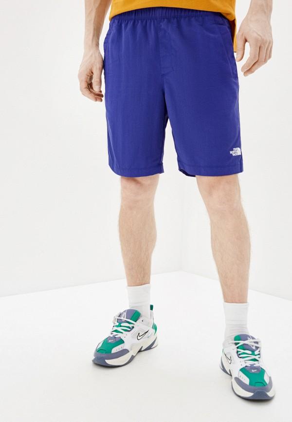 мужские шорты the north face, фиолетовые