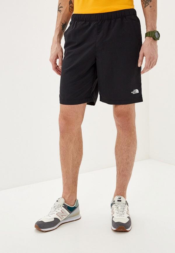 мужские спортивные шорты the north face, черные