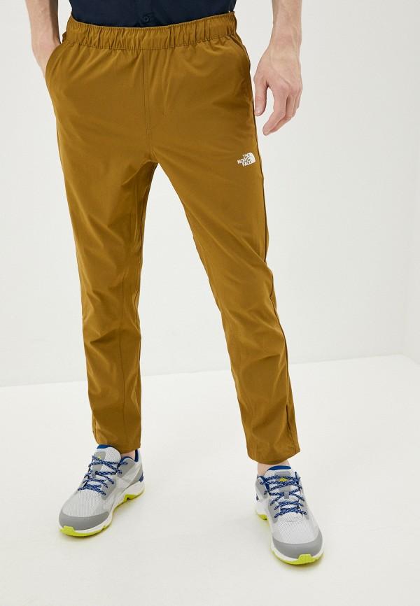 мужские спортивные брюки the north face, коричневые