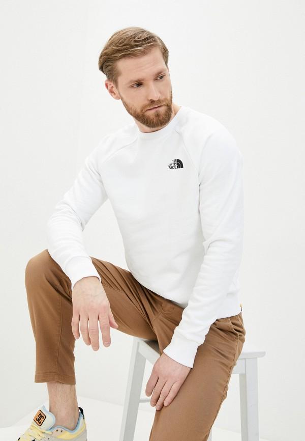мужской спортивные свитшот the north face, белый