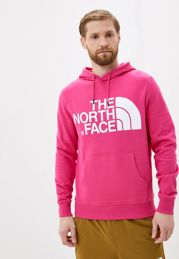 мужские худи the north face, розовые