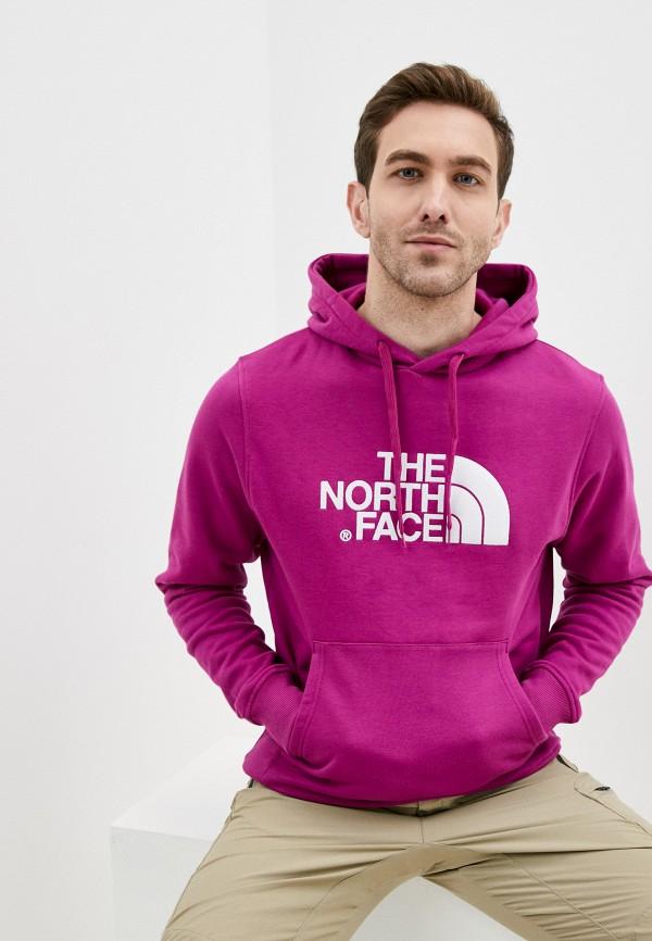 мужские худи the north face, фиолетовые