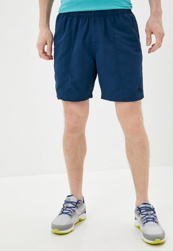 мужские спортивные шорты the north face, бирюзовые