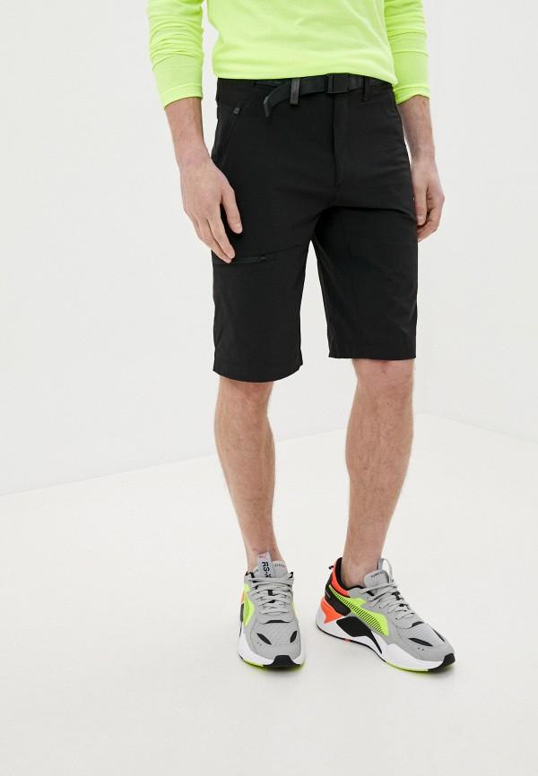 мужские шорты the north face, черные