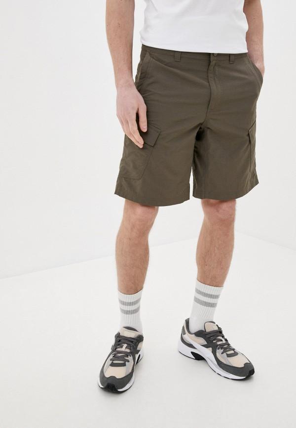 мужские повседневные шорты the north face, коричневые