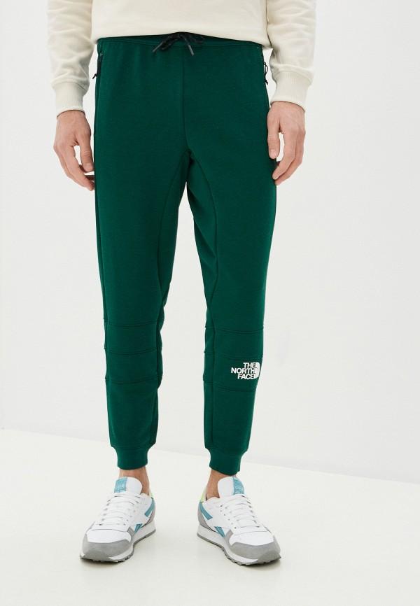 мужские спортивные брюки the north face, зеленые