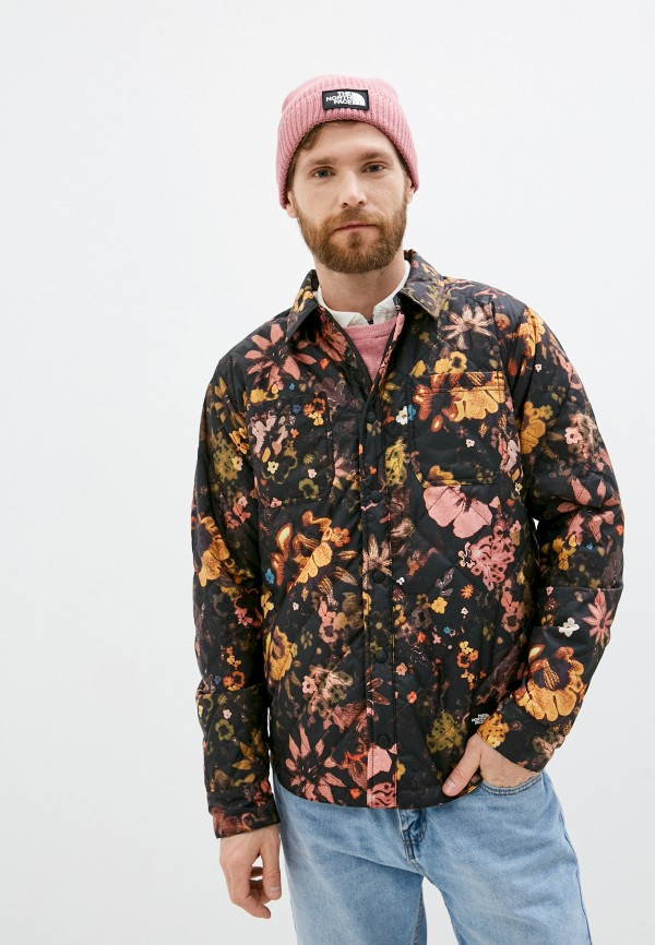 мужская куртка the north face, разноцветная