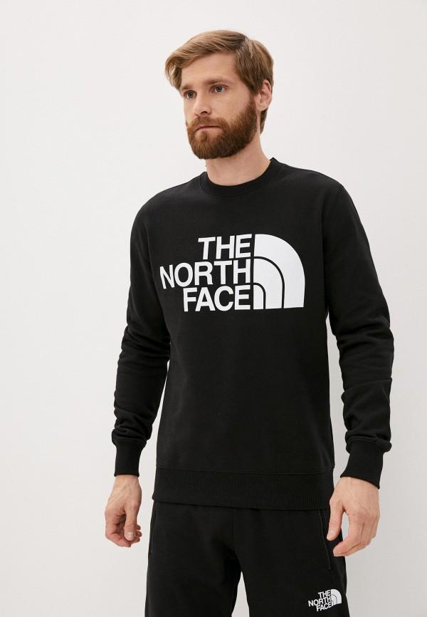 мужской свитшот the north face, черный