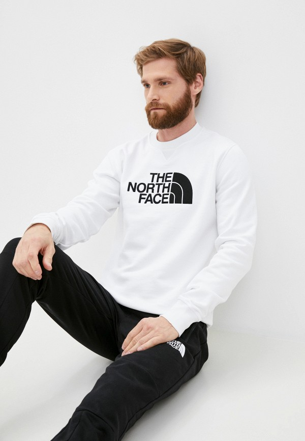 мужской свитшот the north face, белый