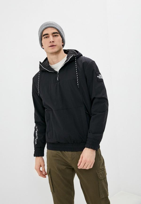 мужская куртка the north face, черная