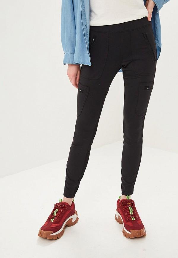 женские спортивные спортивные брюки the north face, черные