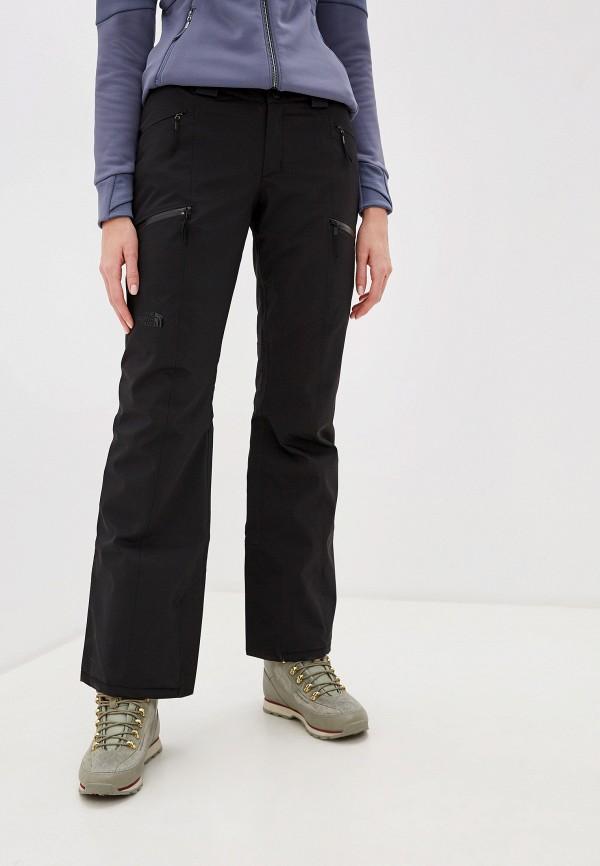 женские брюки the north face, черные
