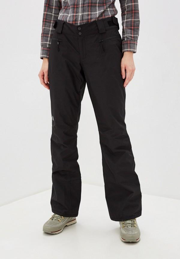 женские сноубордические брюки the north face, черные