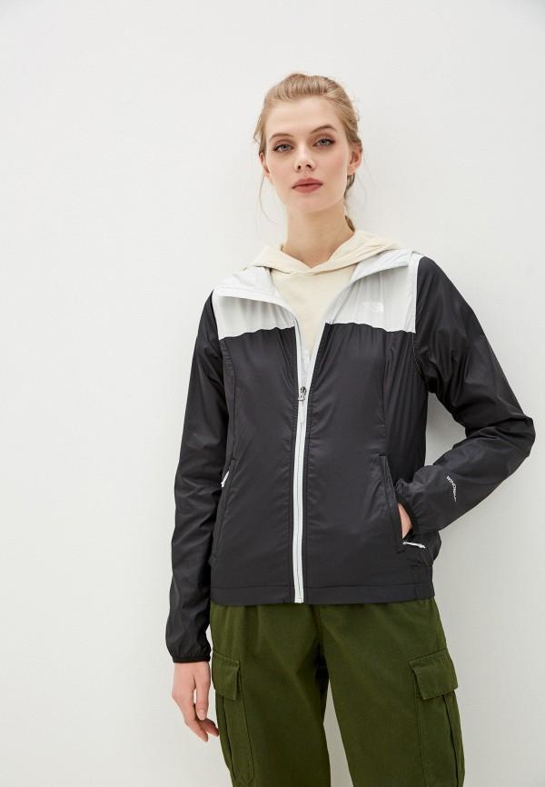 женская спортивные куртка the north face, черная