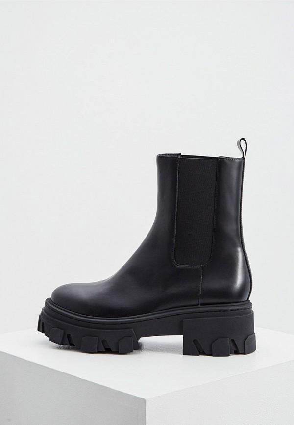 женские ботинки the kooples, черные