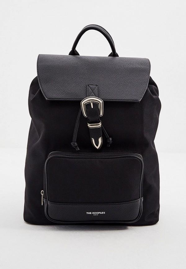 мужской рюкзак the kooples, черный