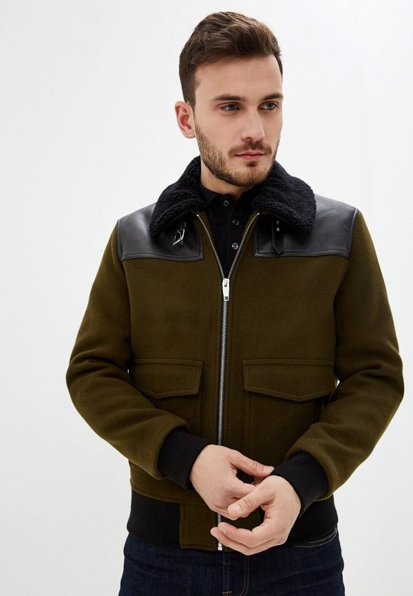 мужская утепленные куртка the kooples, хаки