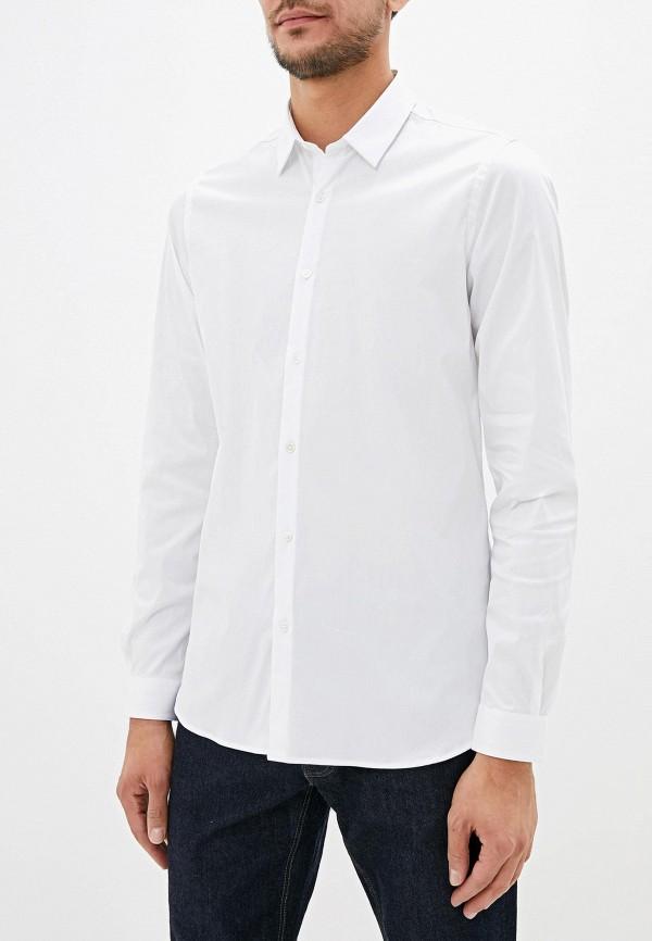 мужская рубашка с длинным рукавом the kooples, белая