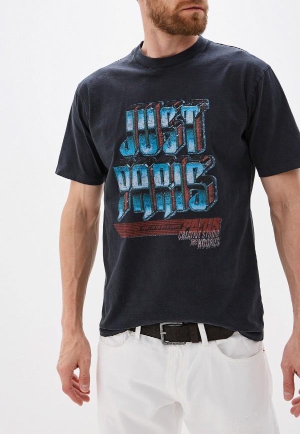 мужская футболка the kooples, серая