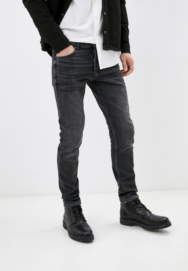 мужские зауженные джинсы the kooples, серые