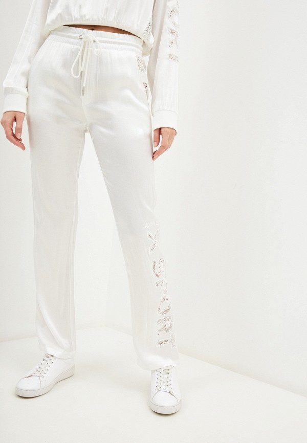 женские повседневные брюки the kooples, белые
