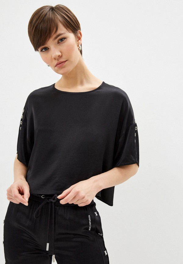 женская блузка the kooples, черная