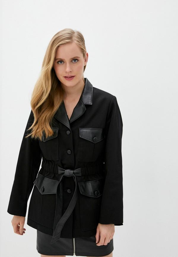 женское пальто the kooples, черное