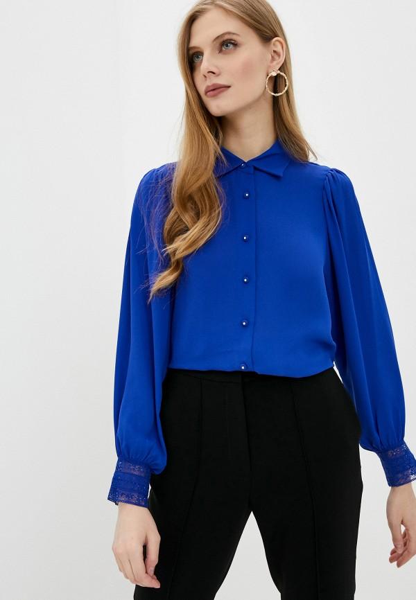 женская блузка the kooples, синяя
