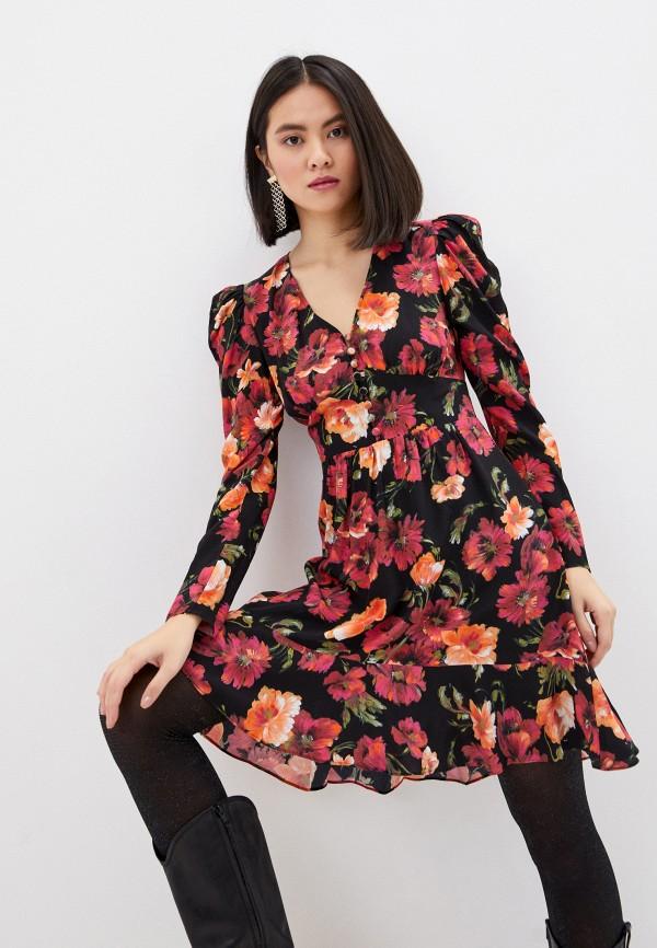 женское повседневные платье the kooples, разноцветное