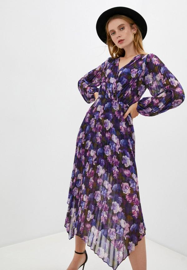 женское повседневные платье the kooples, фиолетовое